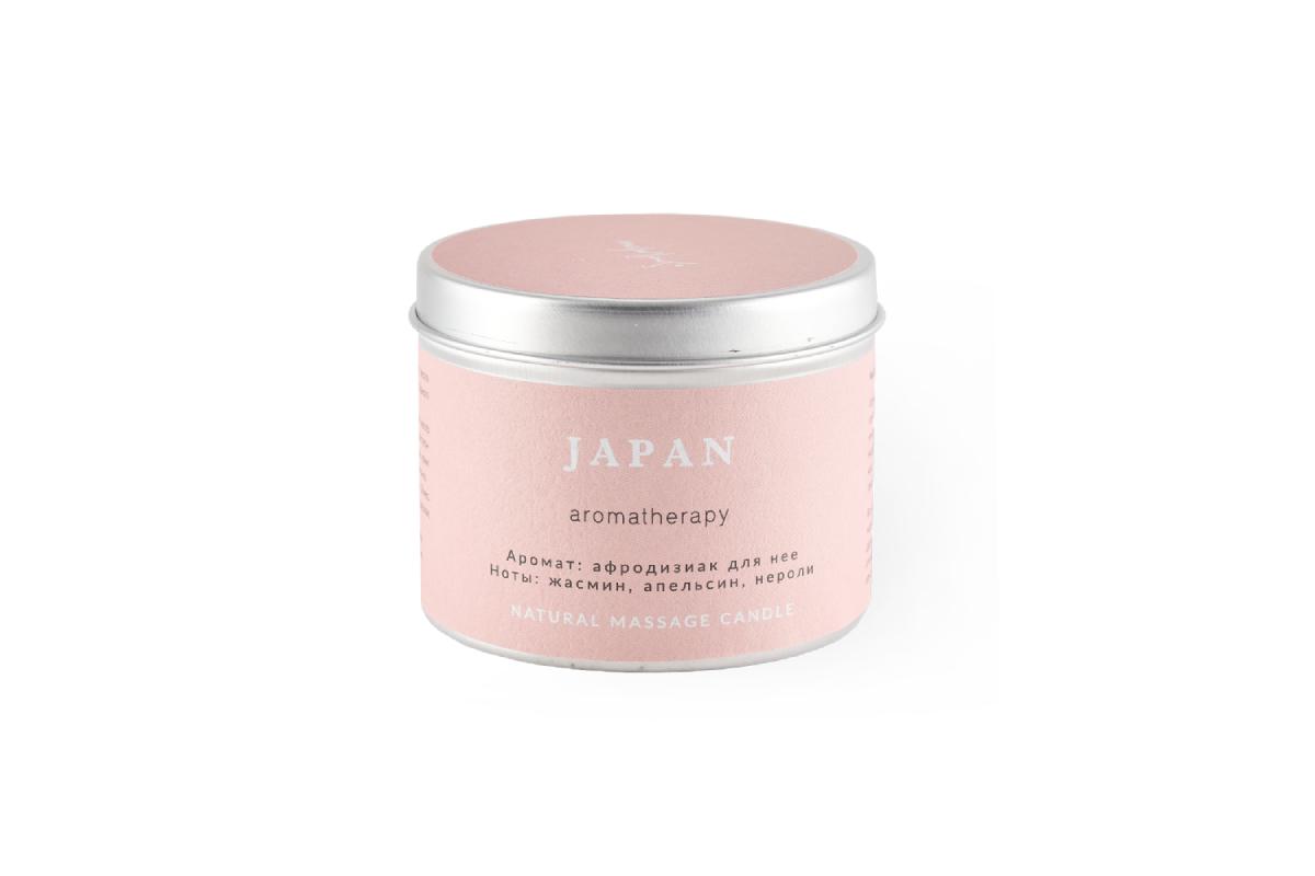 Свеча для аромамассажа «Япония» SmoRodina