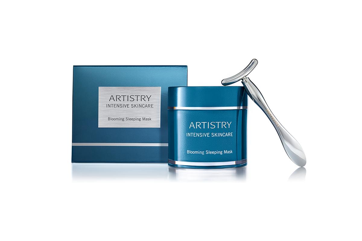 Ночная интенсивно восстанавливающая и успокаивающая маска для кожи лица Artistry Intensive Skincare
