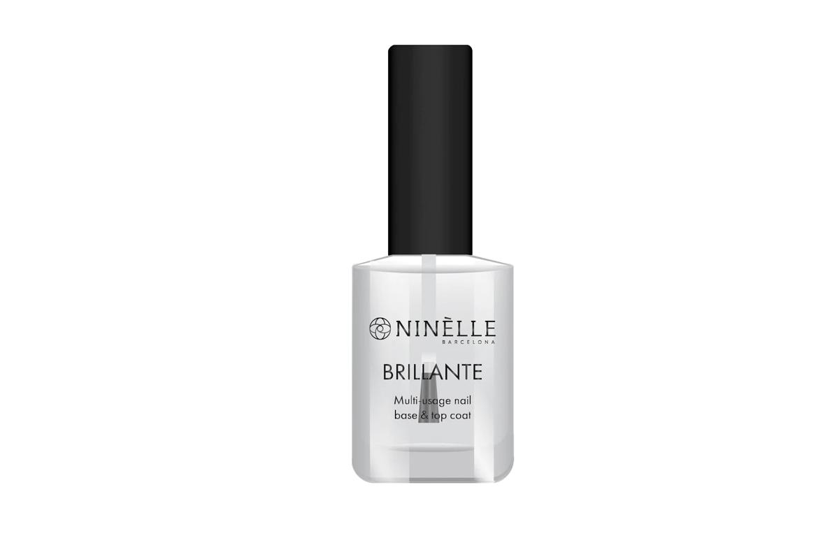 Многофункциональное средство для ногтей: укрепление, защита и блеск BRILLANTE, Ninelle
