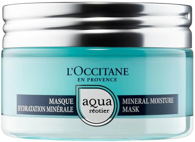Ультраувлажняющая минеральная маска для лица L'Occitane Aqua Reotier с гиалуроновой кислотой и минеральной водой из источника Реотье, 3 600 р.