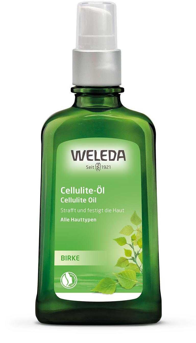 Антицеллюлитное березовое масло Weleda