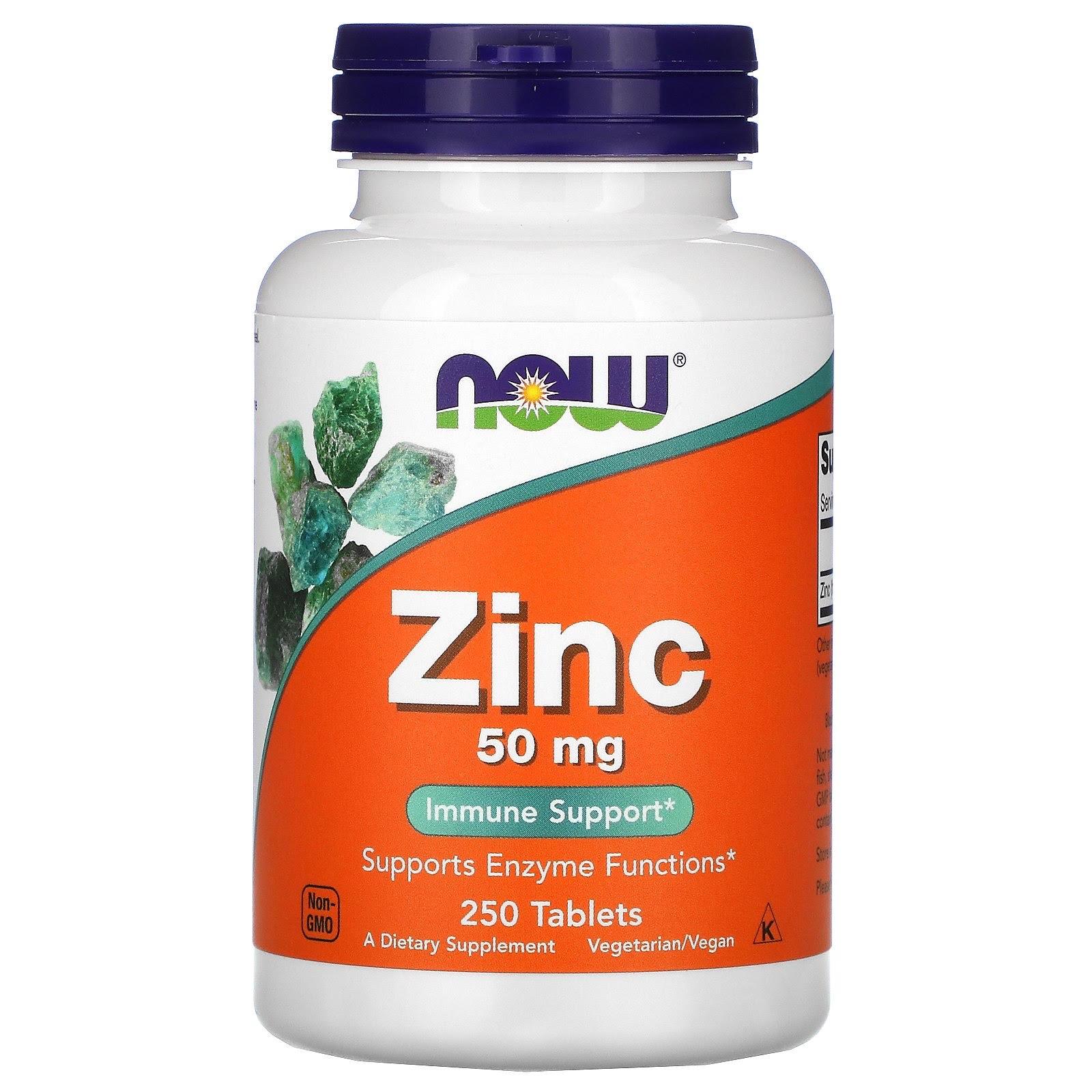 Цинк в капсулах Now Foods Zinc