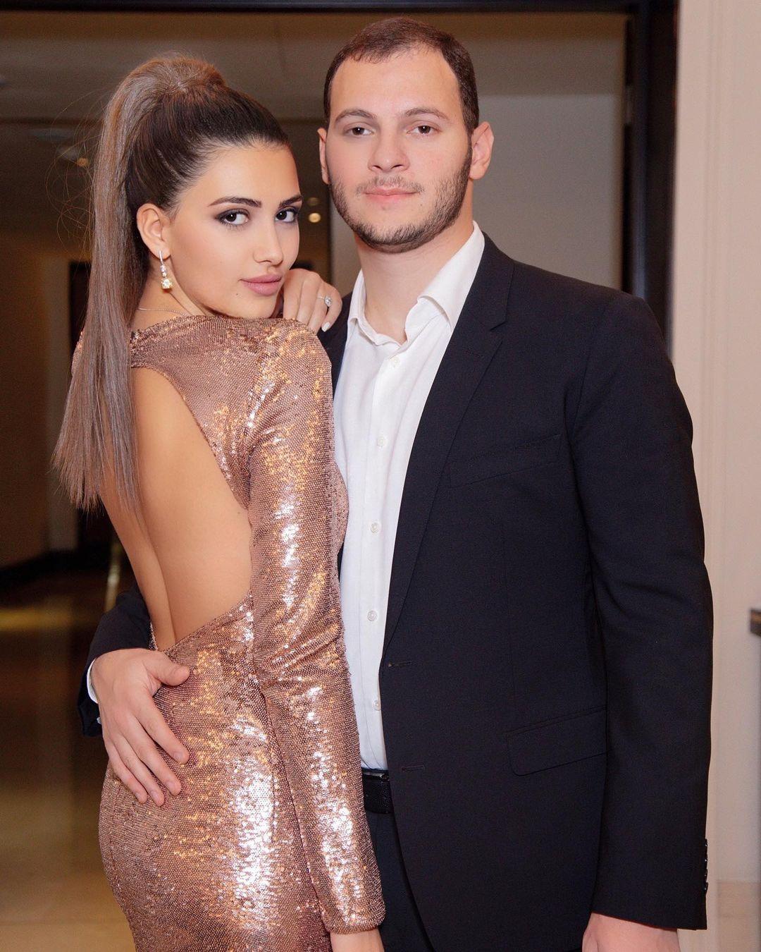Мария с мужем Аркадием. Фото: @masha_chigirinskaya