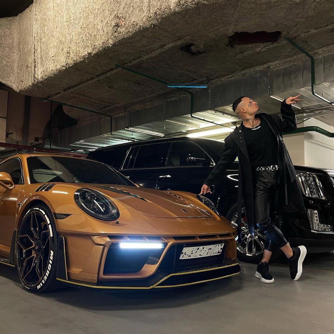 Моргенштерн (Porsche). Фото: morgen_shtern