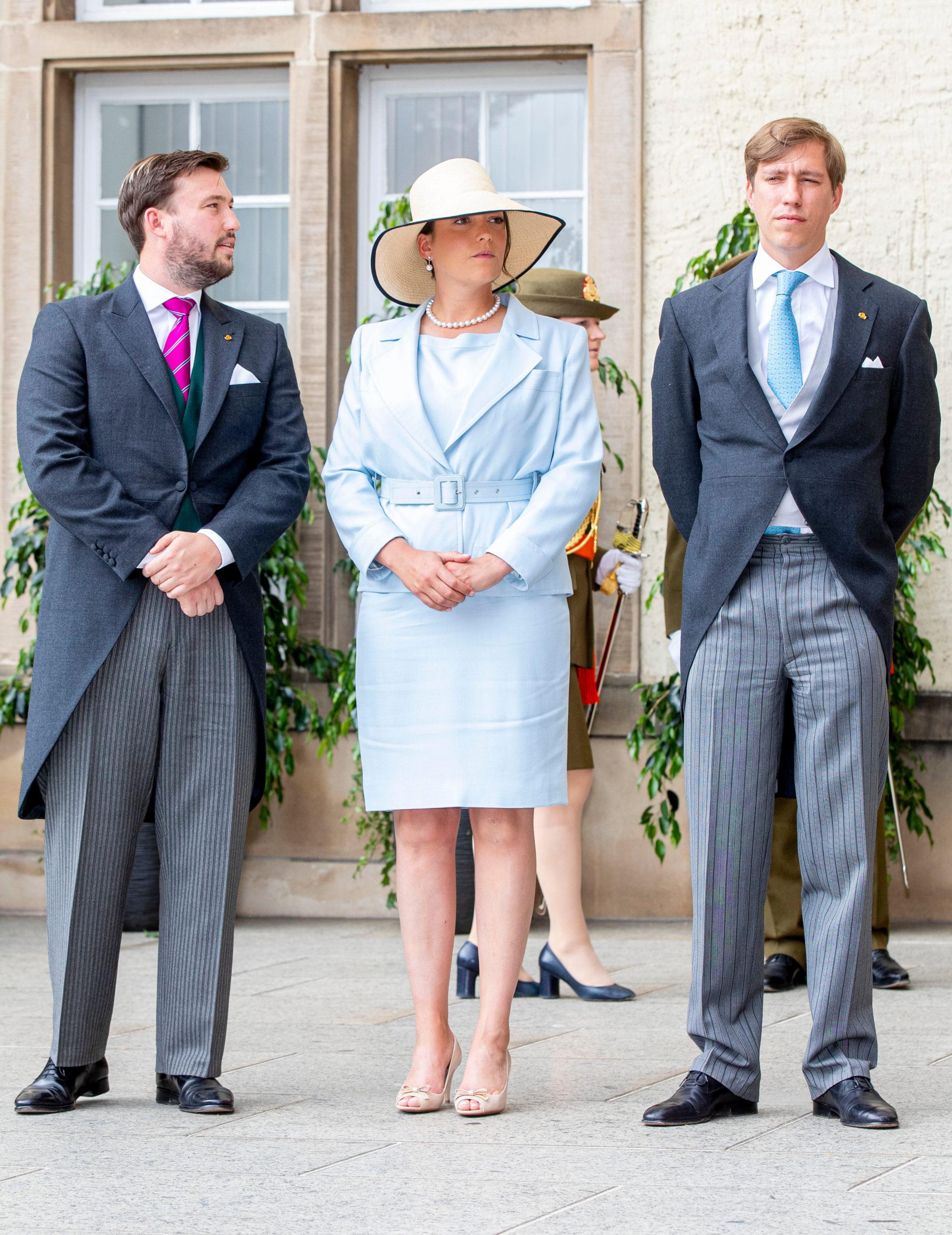 Себастьян с сестрой принцессой Александрой и братом принцем Луи