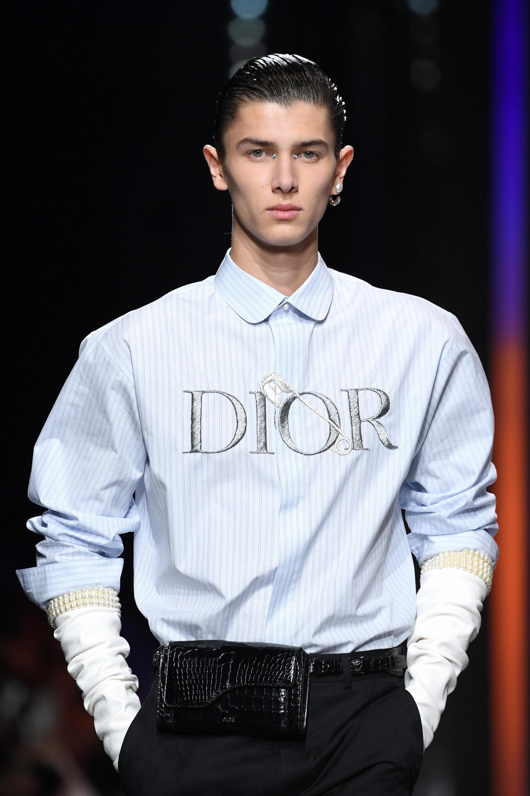 Николай на показе Dior Homme F/W 2020-2021