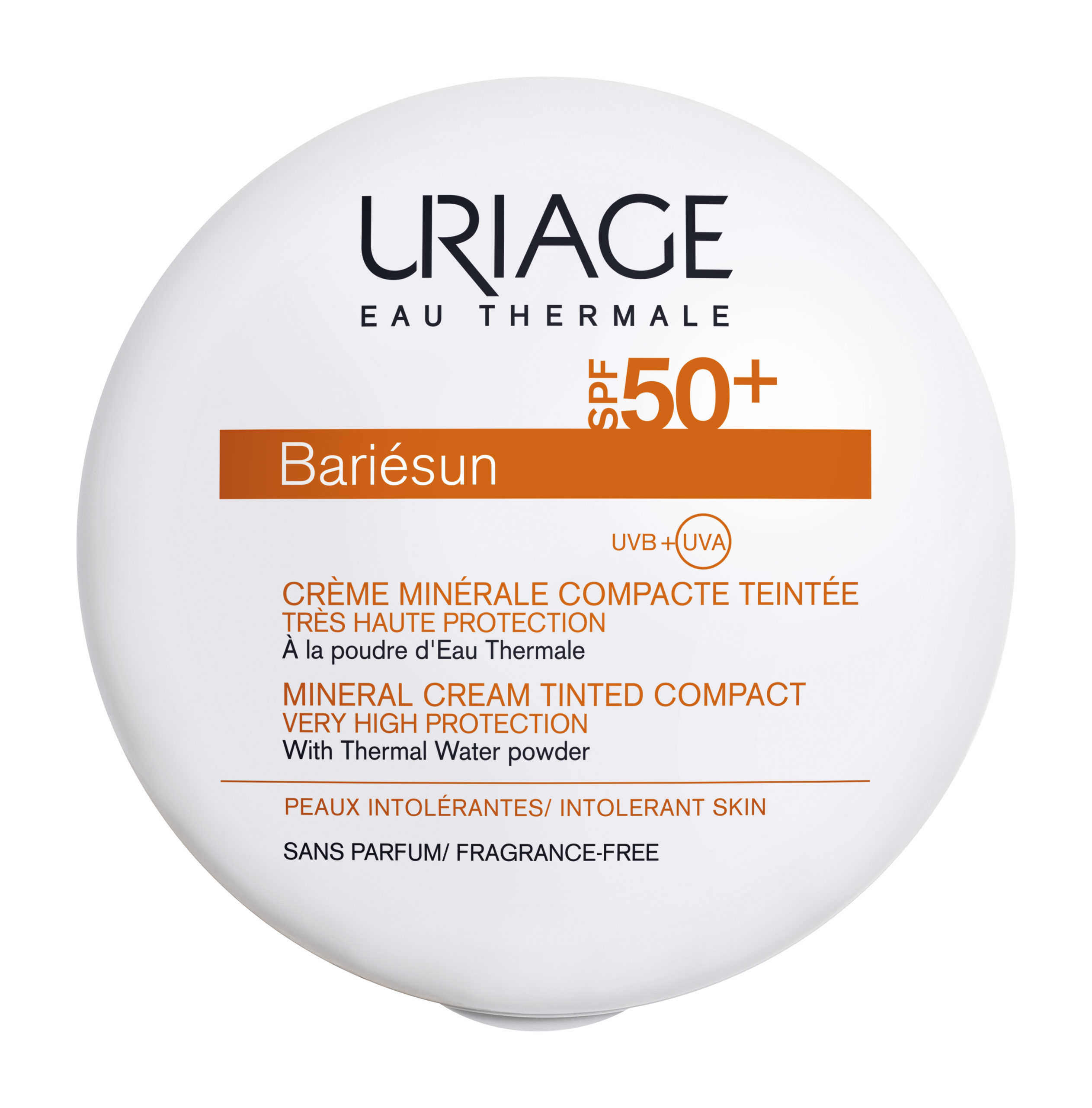 Минеральный компактный крем Uriage Bariesun