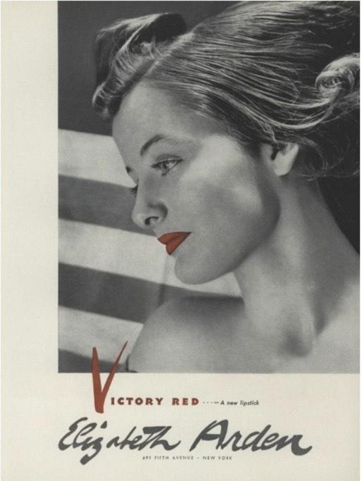 Архивный плакат Elizabeth Arden