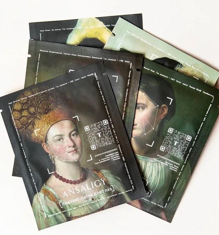 Коллекция патчей ANSALIGY «Русские портреты» с изображениями произведений из собрания Третьяковской галереи, 1 950 руб.
