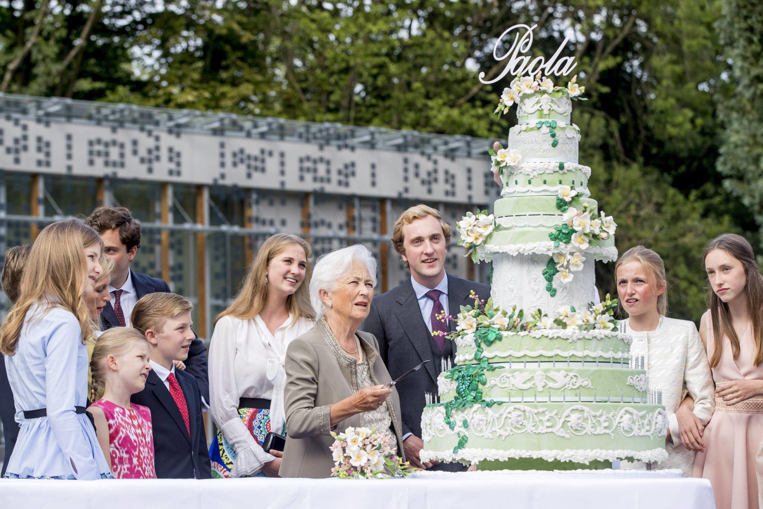 На праздновании 80-летия королевы Паолы (2017) (Фото: legion-media.ru)