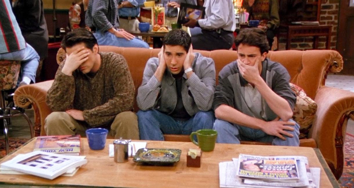 Кадр из сериала друзья «Друзья»