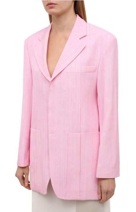 Розовый жакет Jacquemus, 97 450 руб.