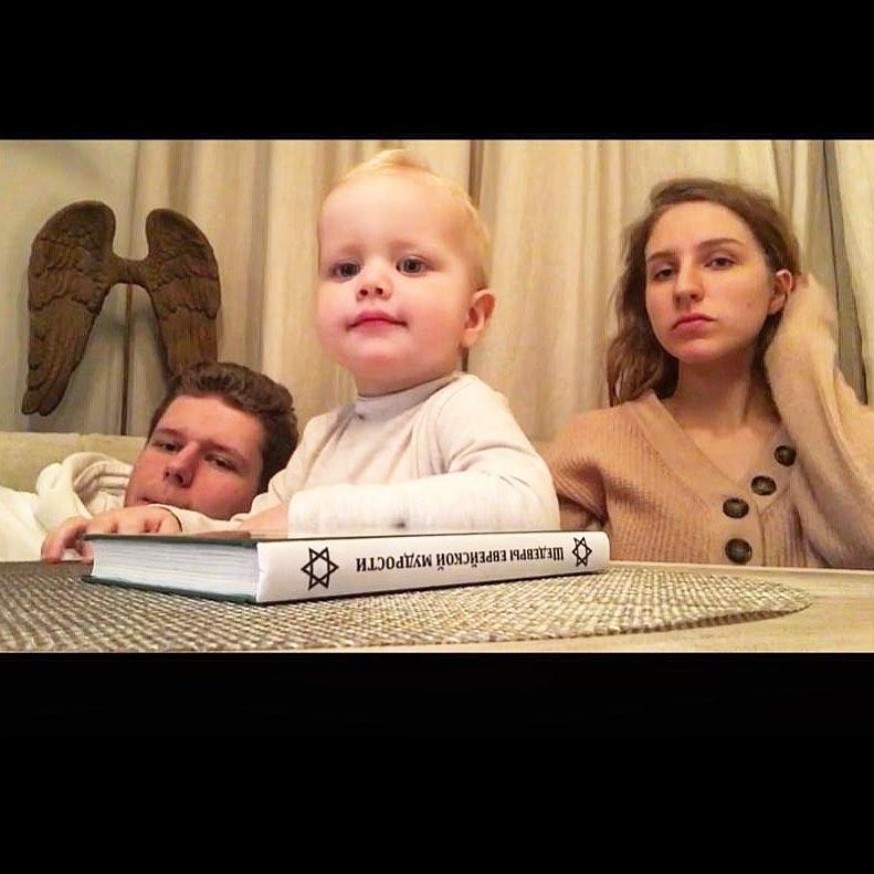 Даниил, Полина и Платон Виторган. Фото: @mvitorgan
