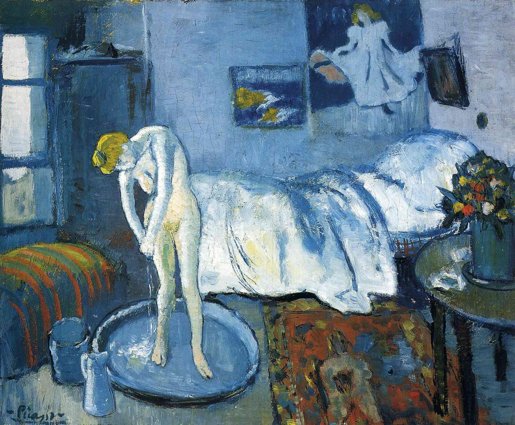 «Голубая комната», Пабло Пикассо