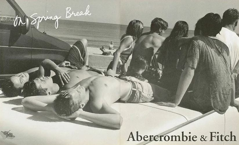 Рекламная кампания The Abercrombie & Fitch Spring/Summer 1997