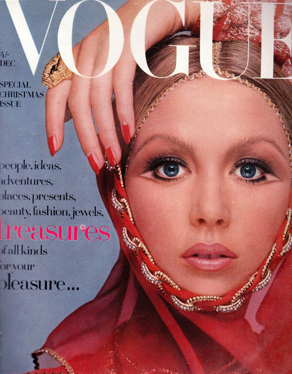Обложка Vogue 1969