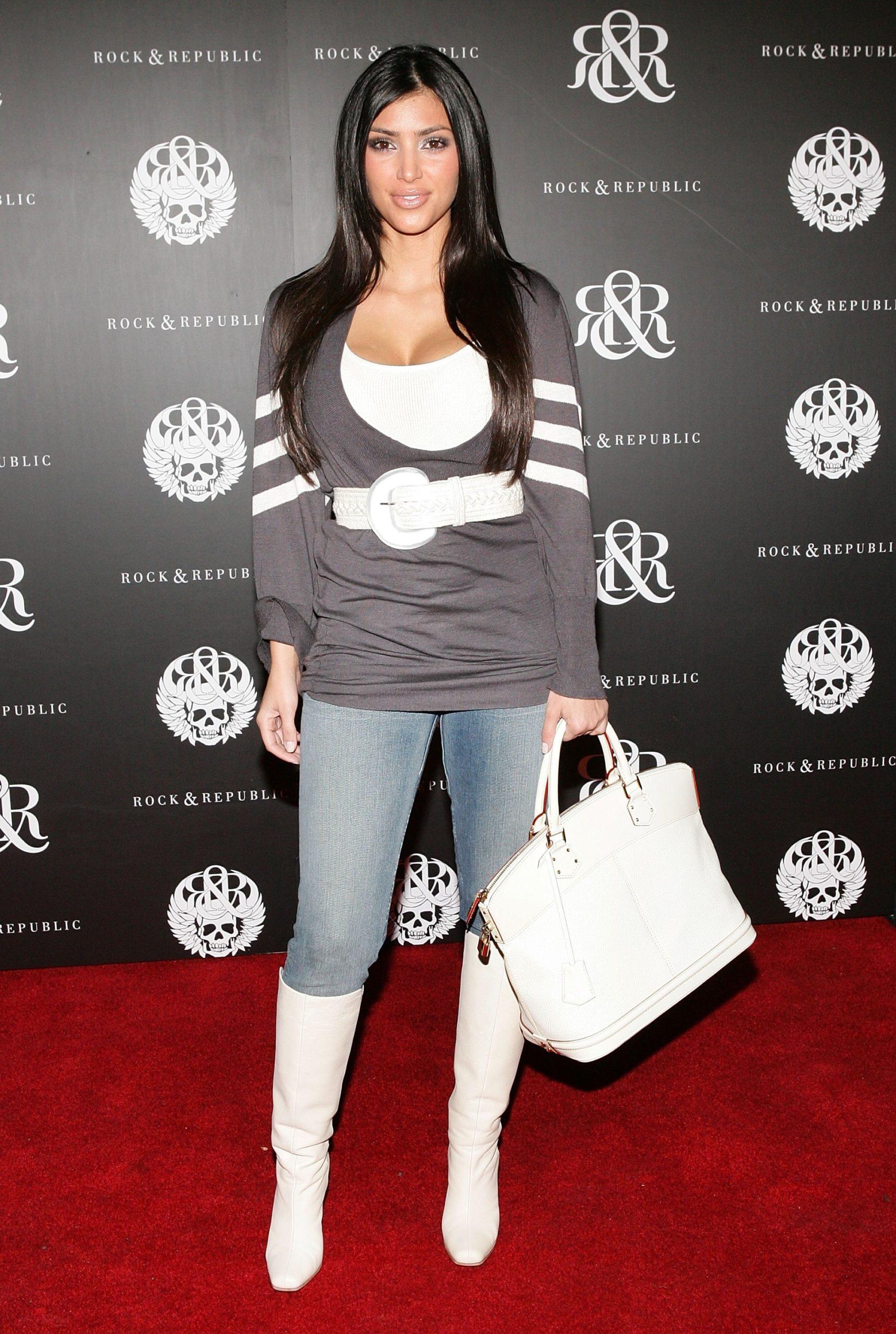 Ким Кардашьян (2006). Фото: Vince Bucci/Getty Images