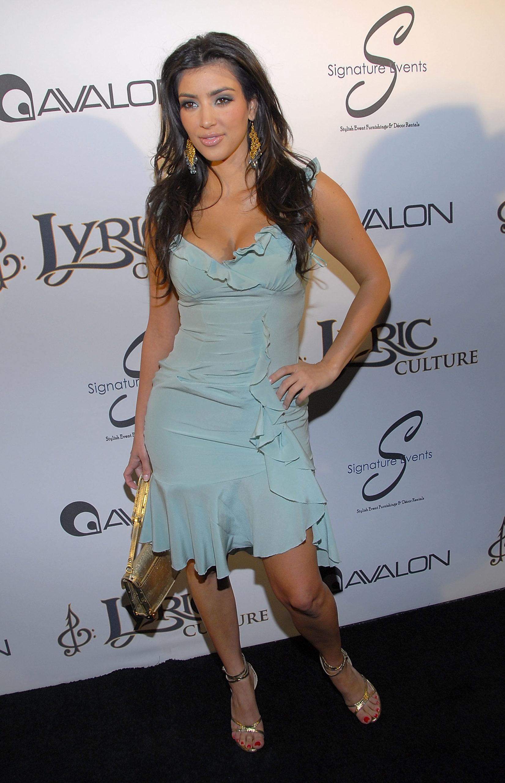 Ким Кардашьян (2007). Фото: Charley Gallay/Getty Images