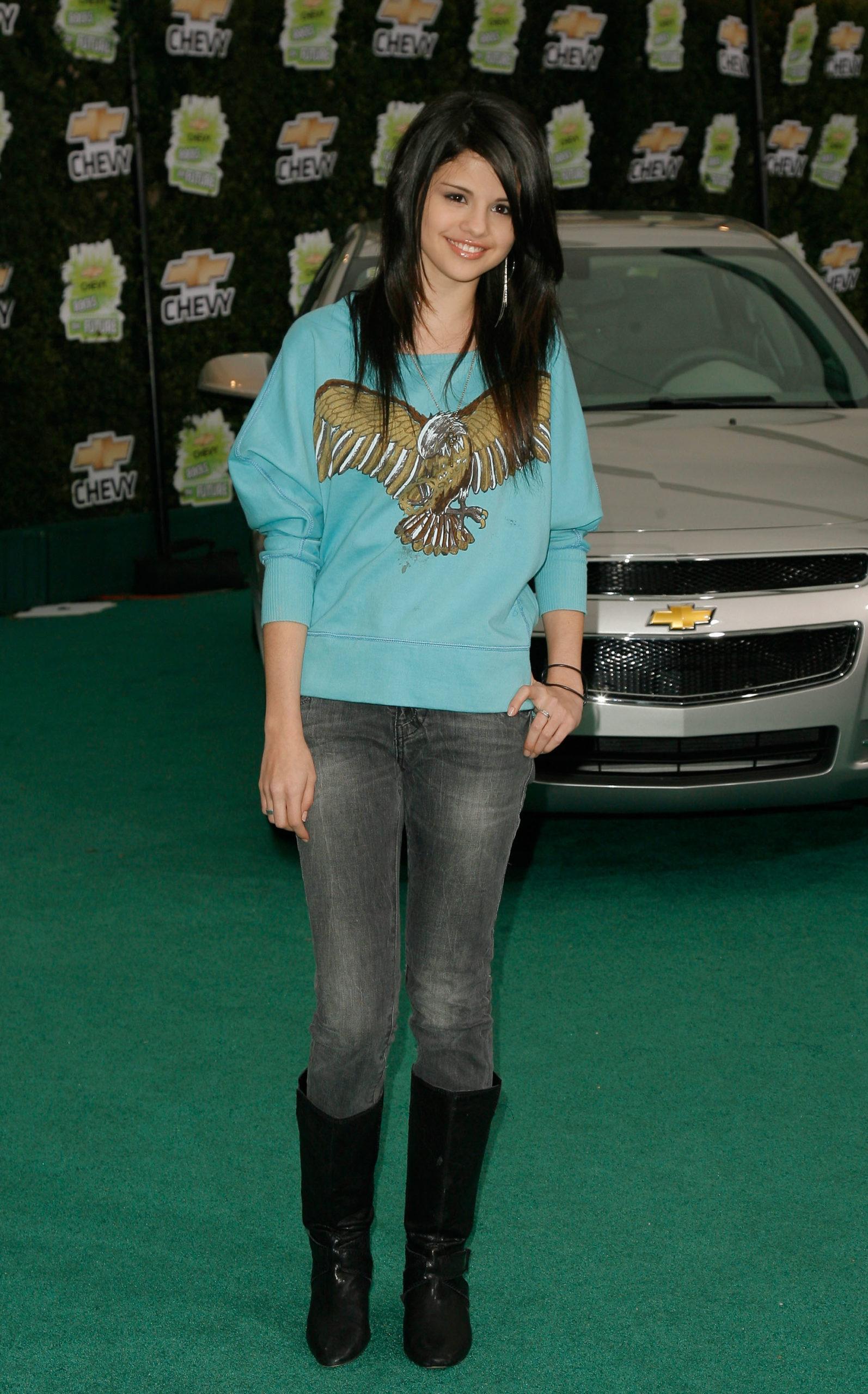 Селена Гомес (2008). Фото: Mark Davis/Getty Images