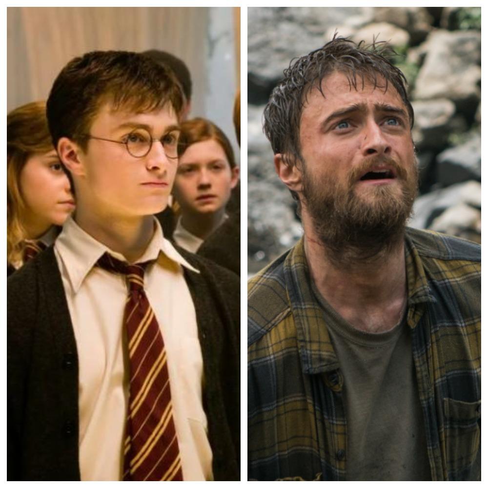 Дэниел Рэдклифф в «Гарри Поттере» и в «Джунглях»