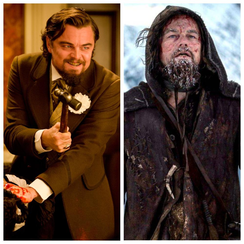 Леонардо ДиКаприо в «Джанго освобожденном» и в «Выжившем»