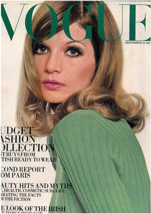 Обложка Vogue 1967