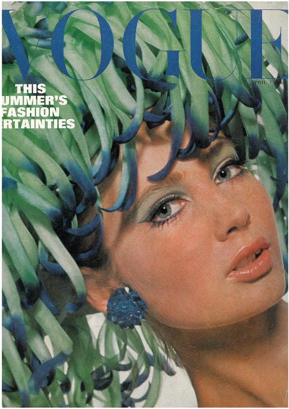 Обложка Vogue 1966
