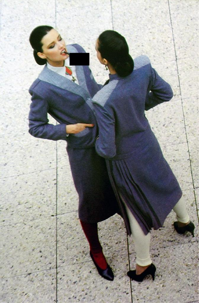 Рекламная кампания Thierry Mugler AW78/79