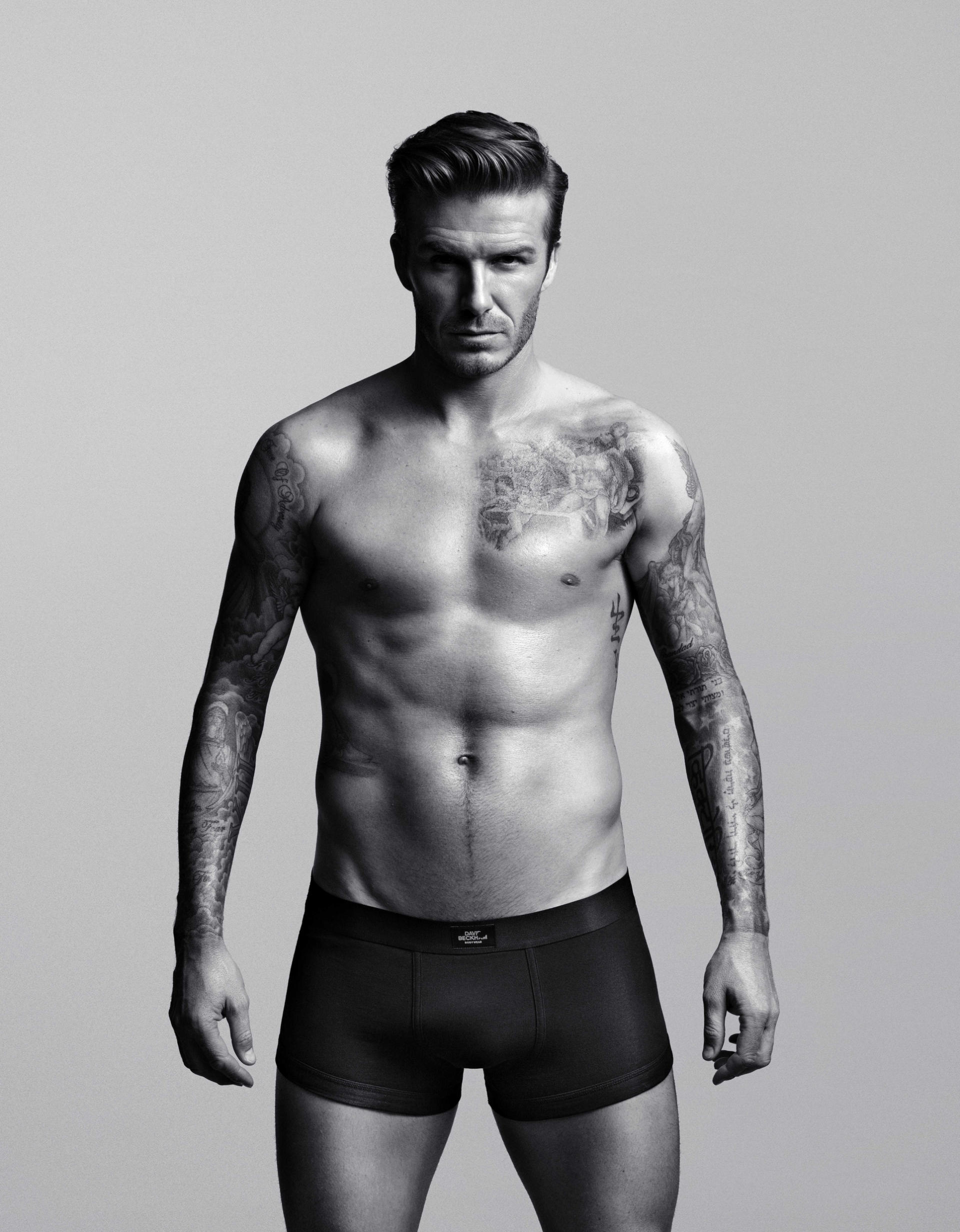 Дэвид Бекхэм, 2012. Фото: David Beckham Bodywear for H&M