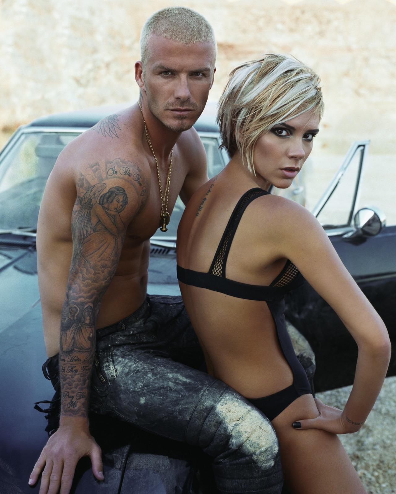 Дэвид и Виктория Бекхэм, 2007. Фото: W-Magazine
