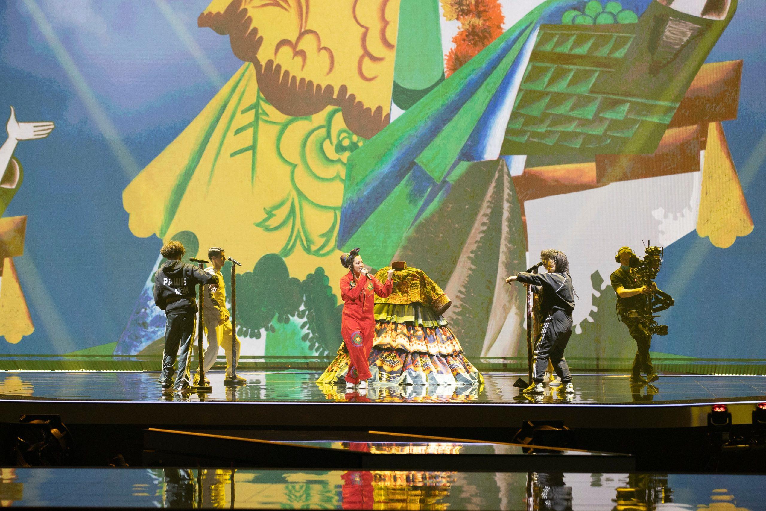 Манижа. Фото: Eurovision.tv