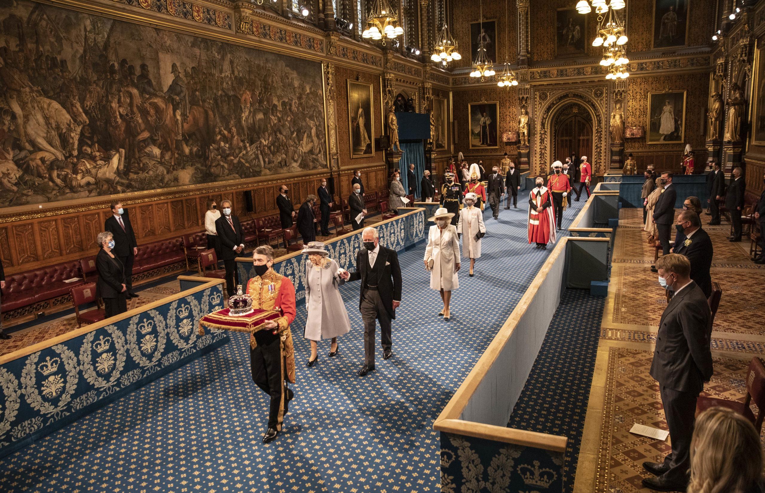 Королева Елизавета II, принц Чарльз и Камилла (Фото: Richard Pohle - WPA Pool/Getty Images)