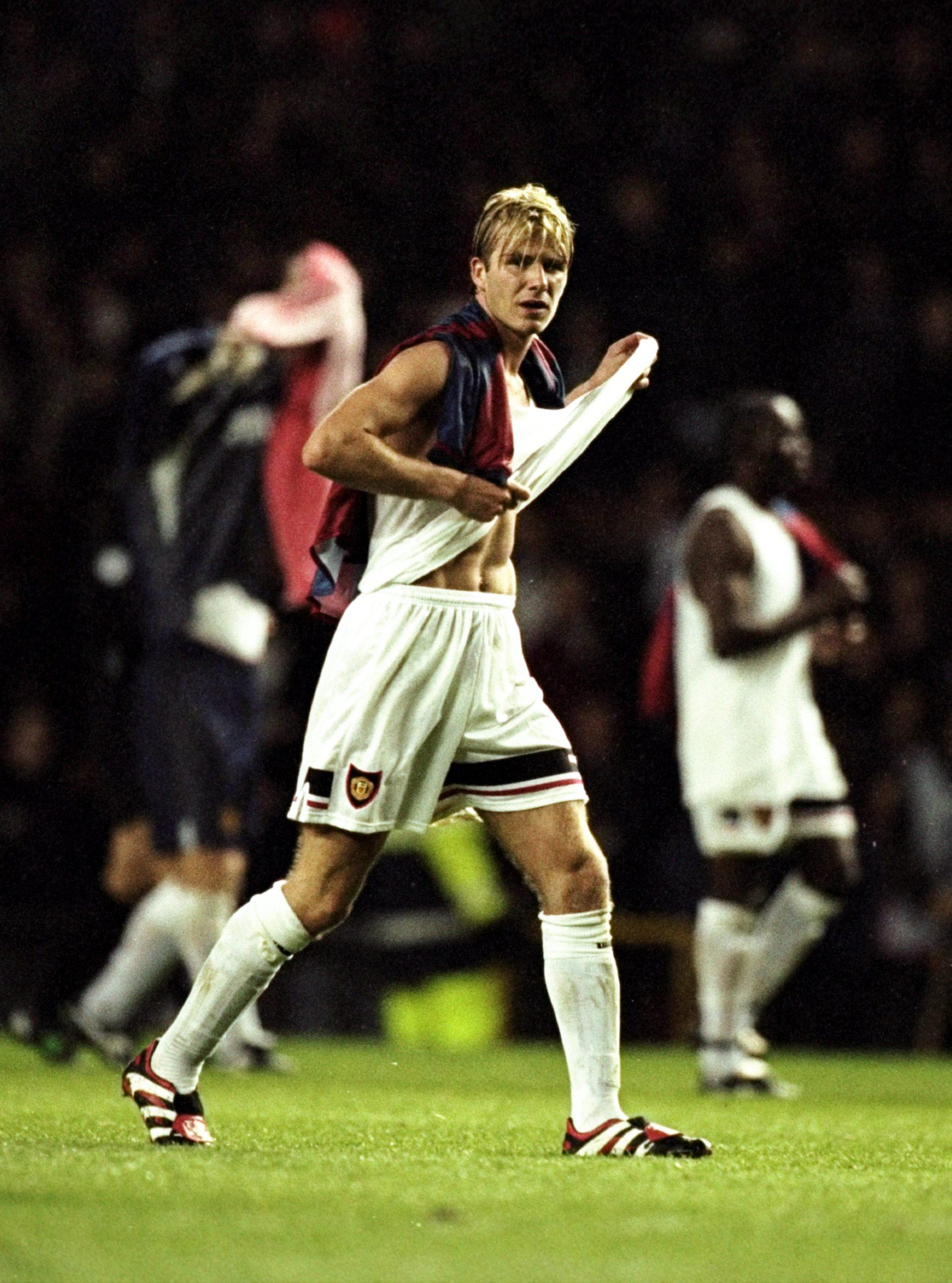 Дэвид Бекхэм, 1998. Фото: Allsport