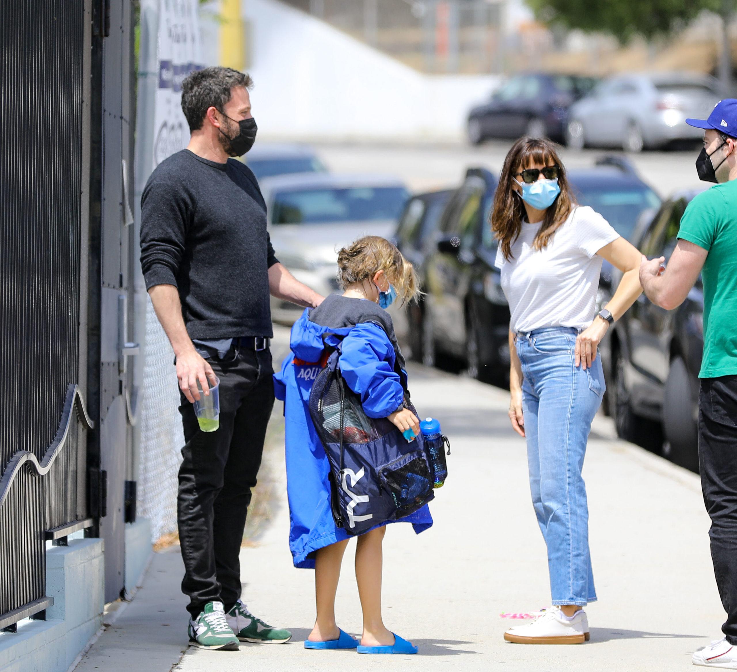 PREMIUM EXCLUSIVE Ben Affleck and Jennifer Garner re unite to talk about Jennifer Lopez
