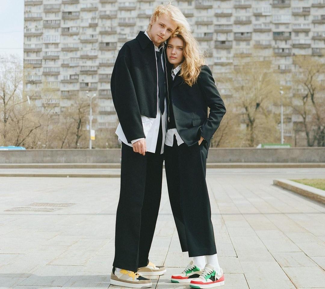 Лукас Портер и Наталья Водянова. Фото: @natasupernova