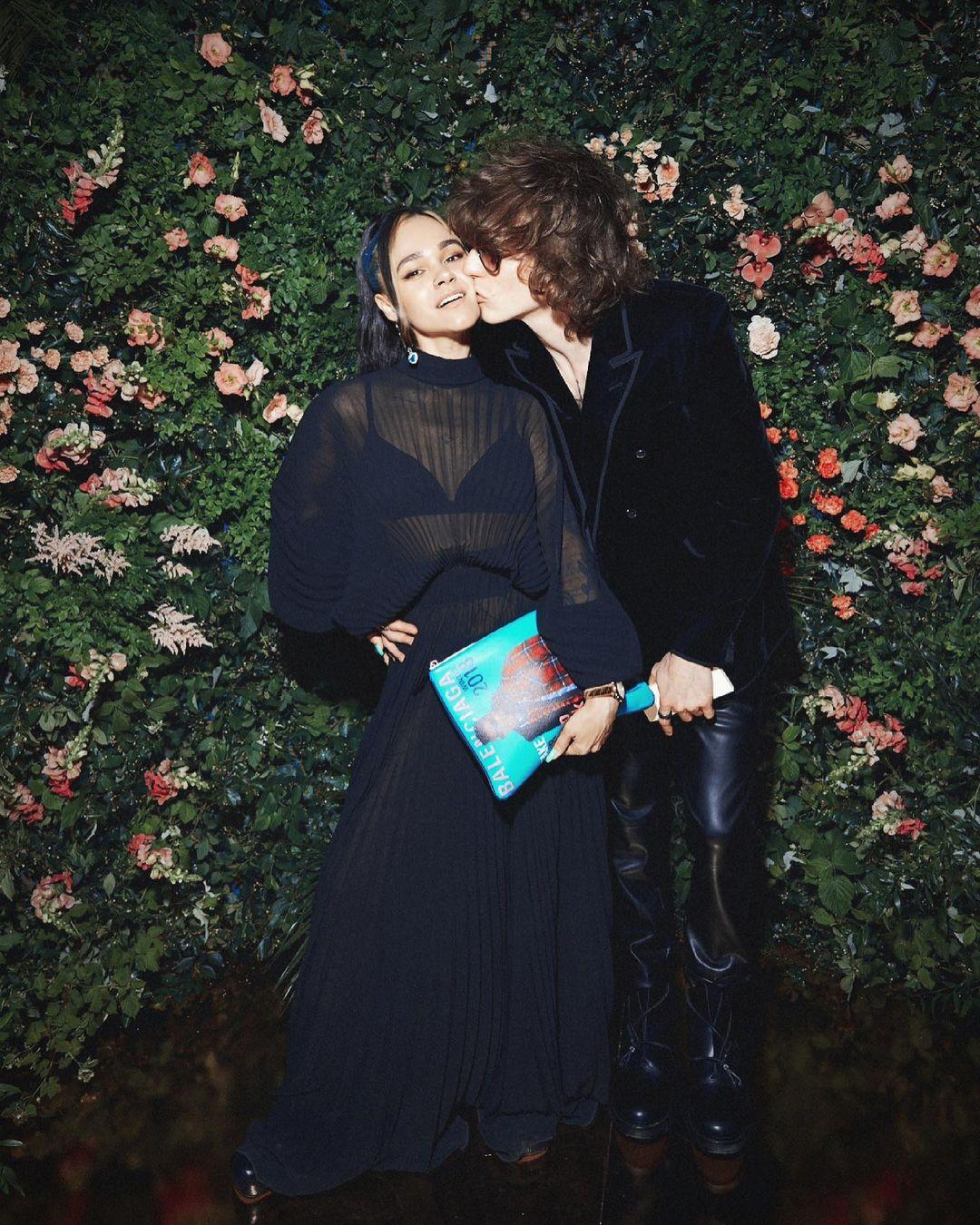 Ирина Смелая и Даниил Патлах (фото: @smelaya_ira)