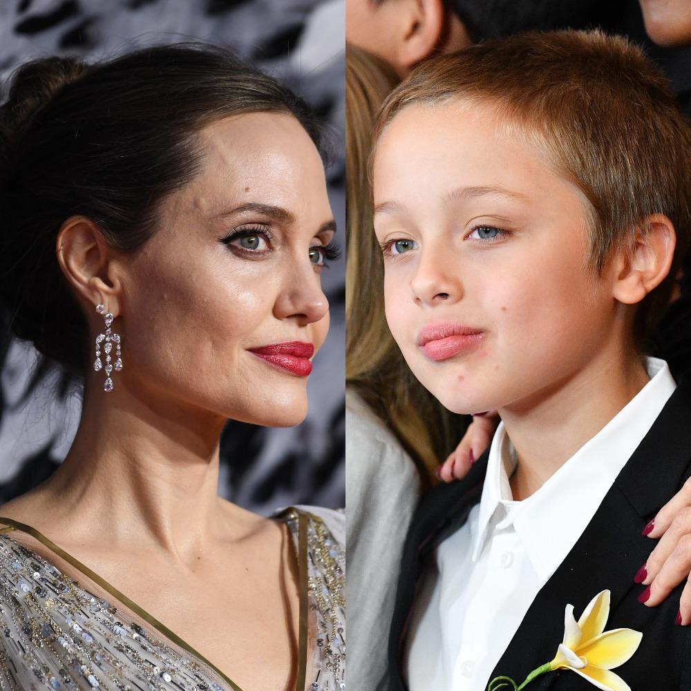 Анджелина Джоли и Нокс Джоли-Питт. Фото: Gareth Cattermole/Getty Images for Disney. Фото: Dia Dipasupil/Getty Images
