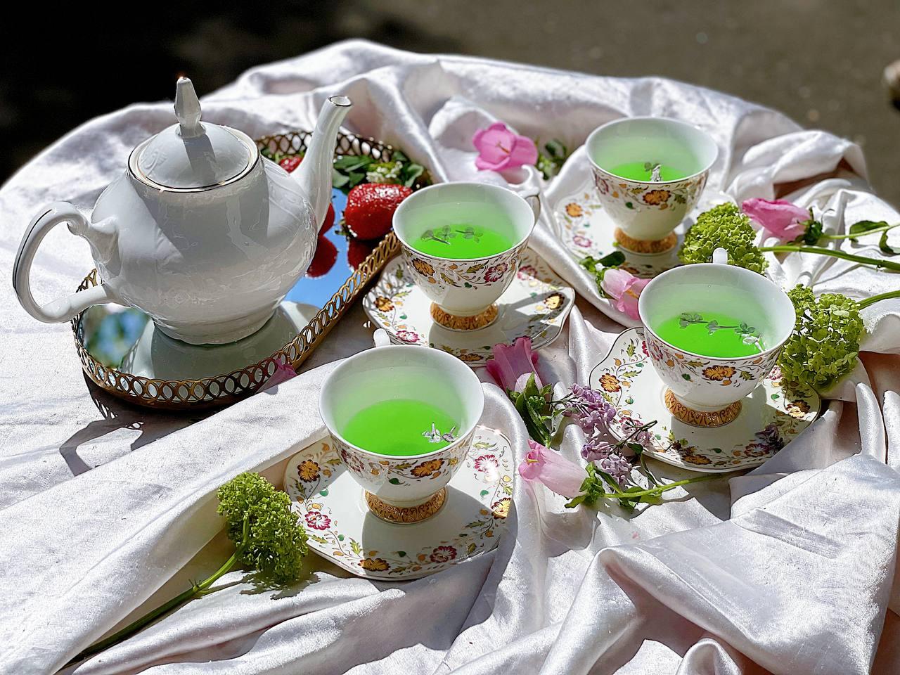 Пьяное чаепитие в Capito