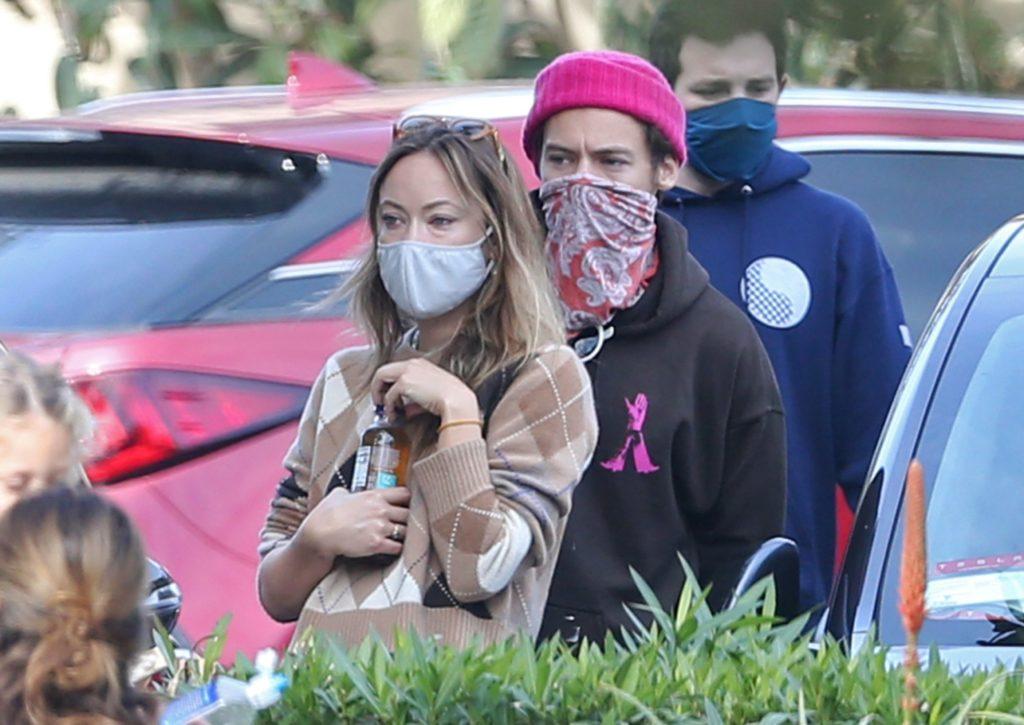 Harry Styles and Olivia Wilde (photo: legion-media.ru)