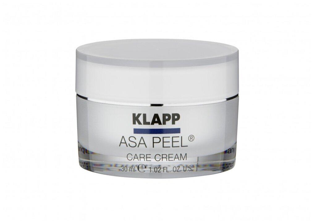 Asa Peel Care Cream, Klapp